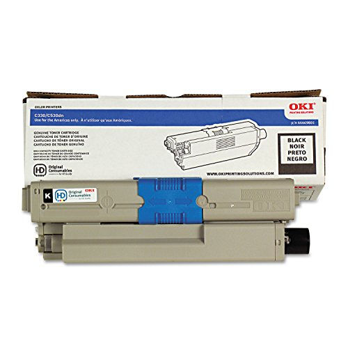 OKI 44469801 44469801 Toner, 3,500 Page-Yield, Black