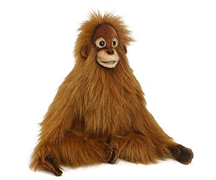 Amazon Com Monkey Baby Orangutan Stuffed Animal Toys Games