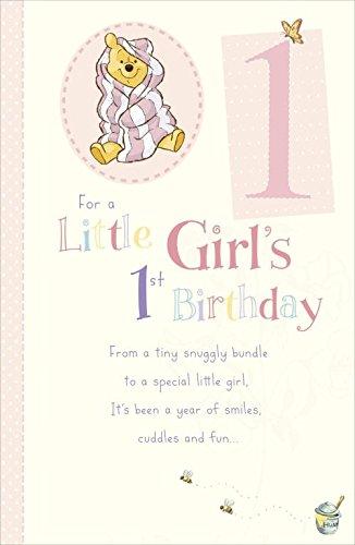 Amazon Disney Winnie The Pooh Bear Little Girls 1st Birthday