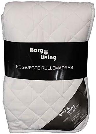 Borg Living Protège-matelas anti-ébullition pour lit king size extra-long, 180 x 210 cm