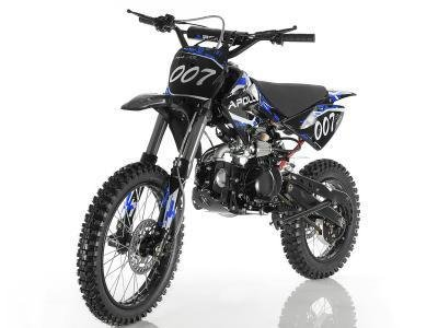 Manual Clutch Dirt Bike - Apollo DB-007 125cc Dirt Bike Blue
