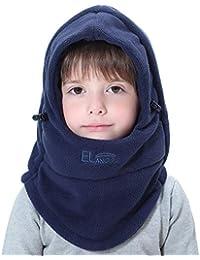 Children's Lightweight Balaclava Winter Hat, Thick...