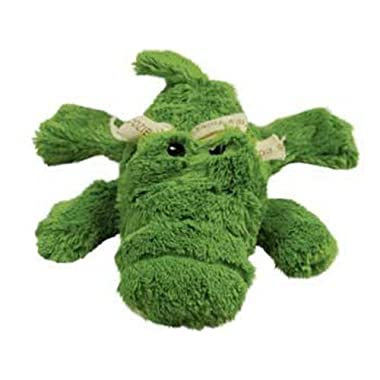 KONG Cozie Ali the Alligator Medium Dog Toy, Green