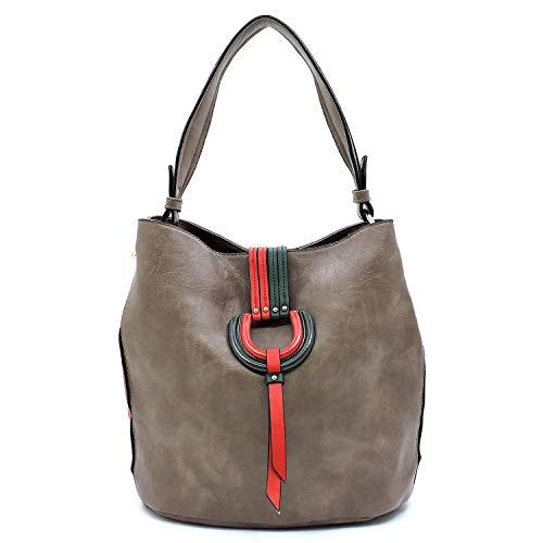 Bag Bagblaze Shoulder Ring Closure Hobo Stone Flap D qYqrXH