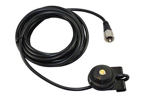 Tram 1246B NMO Black Trunk Lip Mobile Antenna Mount w/ (Factory Lip Mount)