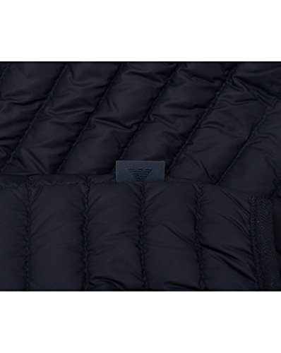Emporio Designer Armani Men's Navy Outerwear Jacket Quilted RRSPwrqx
