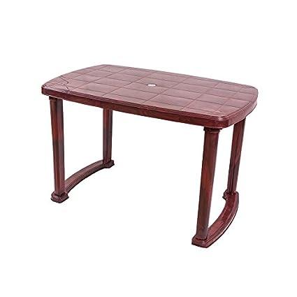 Nilkamal Plastic Marvel Dining Table Rosewood Amazon In Home