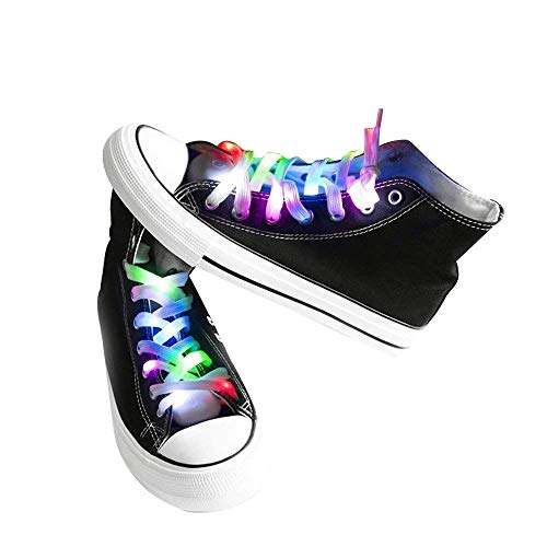 Dhe 5 Different Colors Led Shoelaces for Party Dancing -