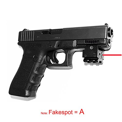 Great Features Of Tactical Mini Red Dot Laser Sight Compact with 20mm Rail Mout, Fit for Pistol Airg...