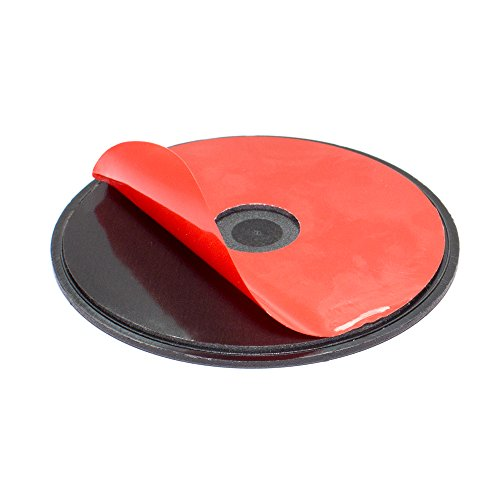 Arkon 90mm Extra Strength Adhesive Mounting Disk for Car Dashboards GPS Smartphone Dashboard Disc