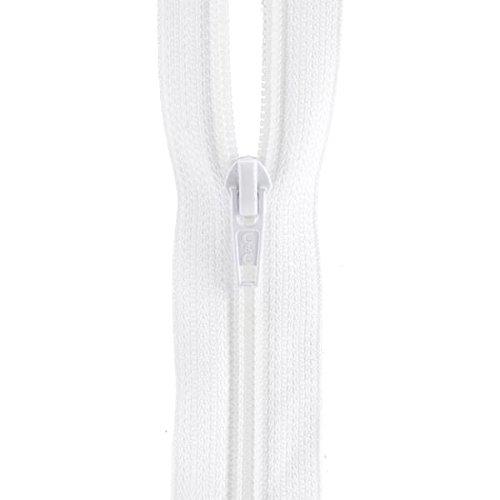(Coats: Thread & Zippers F7207-WHT All-Purpose Plastic Zipper, 7