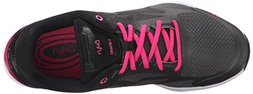 nbsp;Cross Trainer Mujer Grafik 2 de Black Pink Ryka Shoe Grey Iwq4SBnOOW