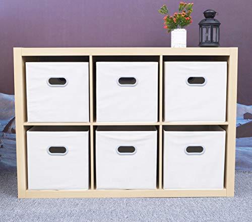 MAX Houser Fabric Cloth Storage Bins,Foldable Storage Cubes