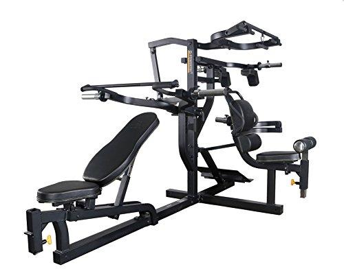 Powertec Fitness Workbench Multi System Black Home Gym