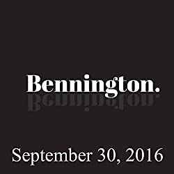 Ron Bennington Archive, September 30, 2016
