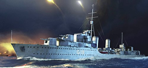 Trumpeter 1/350 HMS Zulu British Tribal Class Destroyer 1941 Kit British Destroyer
