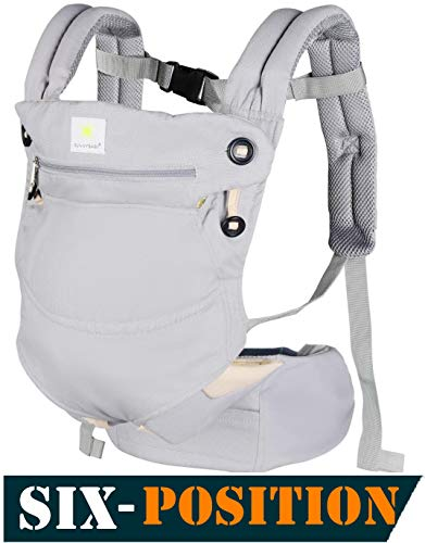 Check Out This Baby Carriers Front and Back,All-Position 360° Ergonomic Baby & Child Carrier,All Se...