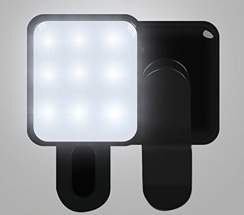 ez-tech-easy-simple-smart-mini-selfie-led-beauty-light-adjustable-brightness-universal-black
