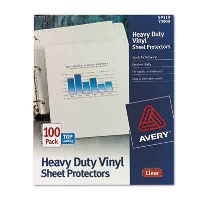AVE73900 Top-Load Vinyl Sheet Protectors