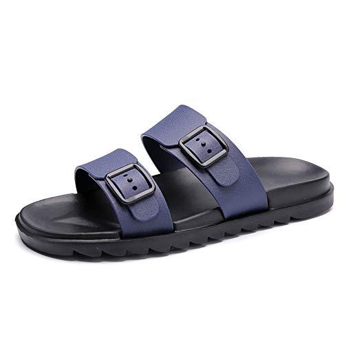 Ocio Azul Verano Suave Calzado Sandalias Zapatillas Zapatos De Ojotas ALIKEEYLos Hombres Cómodo tBOPn