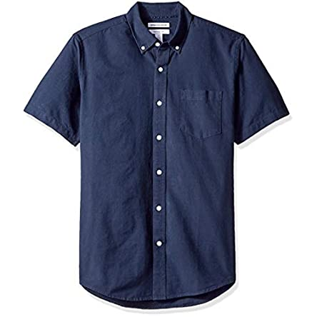 Amazon Essentials Men's Regular-Fit Short-Sleeve...