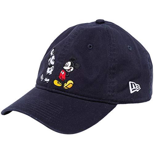 [ニューエラ]×ディズニー 930キャップ クローズストラップ ミッキーマウス 11781583 ネイビー キャラクターカラー スノーホワイト