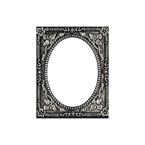 Foundry Frames by Tim Holtz Idea-ology, 2 x 2.5 Inches, Pack of 2, Antique Nickel Finish, TH93198