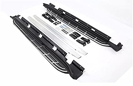 Side Step fit for Porsche Macan S Turbo 2014-2016 Running Board Nerf Bar Black