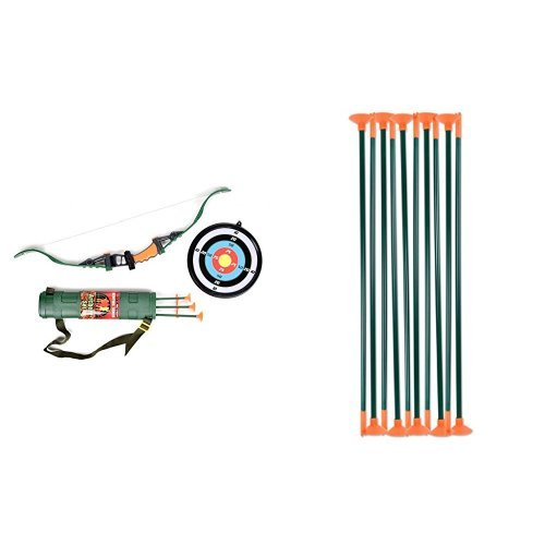 Maxx Action Hunting Series Toy Hunting Bow + Arrow Refill...