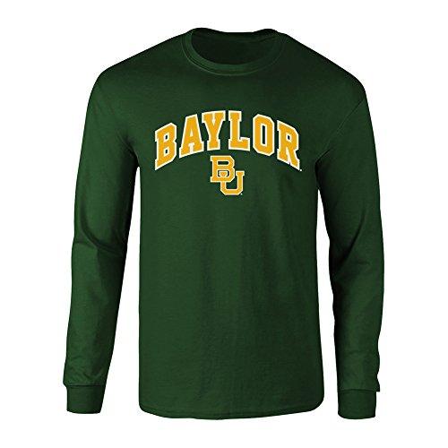 - Elite Fan Shop NCAA Men's Baylor Bears Long Sleeve Shirt Team Color Arch Baylor Bears Green XX Large