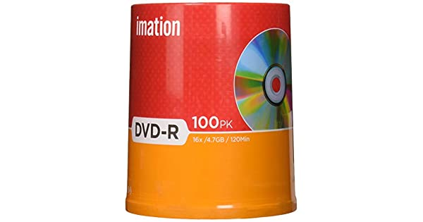 Amazon.com: Imation 16 x DVD-R 4.7 GB Pack Spindle: Home ...
