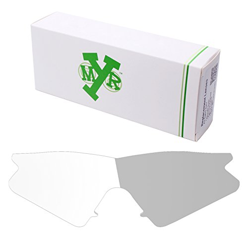 Mryok UV400 Replacement Lenses for Oakley M Frame Sweep - Eclipse Grey (Uvc Light Sweep)
