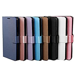 Drawbench Full body Leather Case with Stand for iPhone 5/5S (Assorted Colors) , Blue