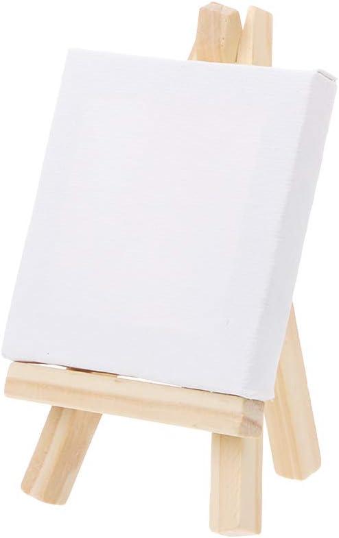 juego de caballete de madera natural para pintura art/ística Hergon Mini tabla de lona suministros de boda manualidades dibujo medium 1 12 x 20 caballete + 15 x 20 marcos de fotos