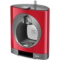 Krups OBLO Red Pod coffee machine 0.8L Gris, Rojo - Cafetera (Independiente, Pod coffee machine, Coffee capsule, Gris, Rojo, Café largo, Capuchino, Café expreso, Latte macchiato)