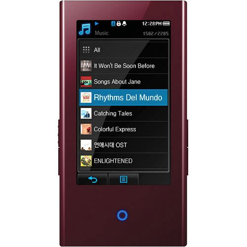 Samsung P2 16 GB Video MP3 Player with Bluetooth 2.0 (Burgundy)