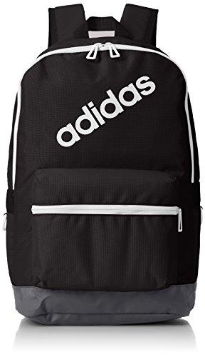 adidas BP Daily Mochila, Hombre, (Negro/Carbon/Blanco), 24x36x45 cm (W x H x L): Amazon.es: Zapatos y complementos