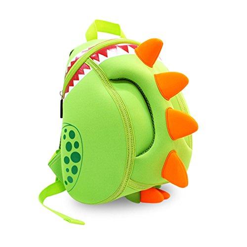 Nohoo 3D Dinosaur Kids Backpack Cartoon Preschool Toddler Bag