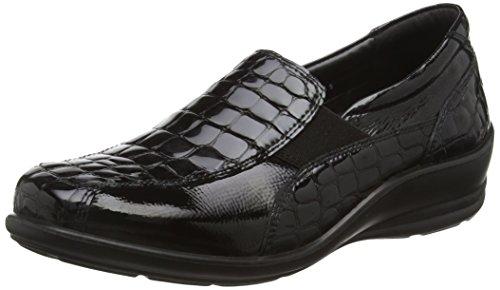 Croc Femme Mocassins Black 43 Padders Noir Skye qSRwACZ
