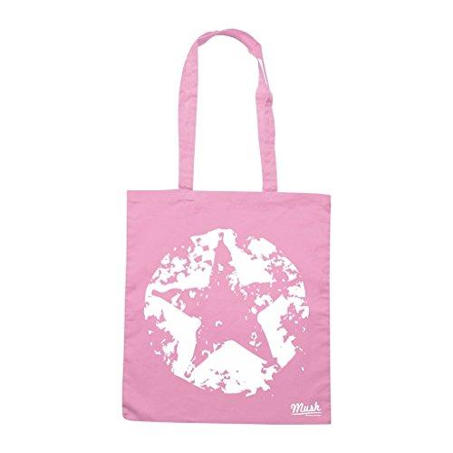 Borsa Star Grunge - Rosa - Music by Mush Dress Your Style