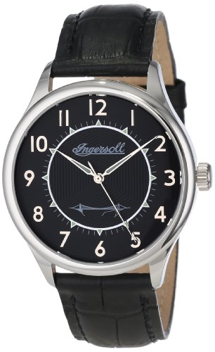 Ingersoll Men's INJA001SLBK Harry Clifton Limited Edition Mechanical Timepiece Silver Case Watch