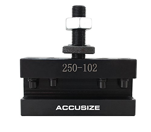 AccusizeTools - 9-12'' Professional Wedge Type Quick Change Tool Post 6 Pcs/Set for #100 AXA, 0251-0111 by Accusize Industrial Tools (Image #5)