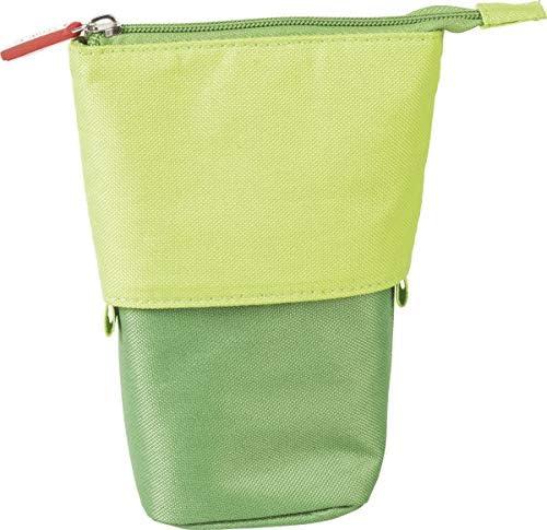 Brunnen 104903050 - Estuche y portalápices (18 x 8 cm, 12 cm), color verde: Amazon.es: Oficina y papelería