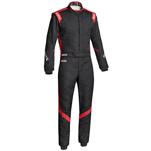 Sparco Victory RS-7 Racing Suit 0011277H (Size: 56, Black/Red) -