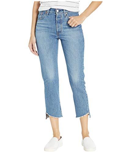 Levi's Women's 501 Crop Jeans, Call Me Crazy, Blue, 32 (Womens Levi Crop Jeans)