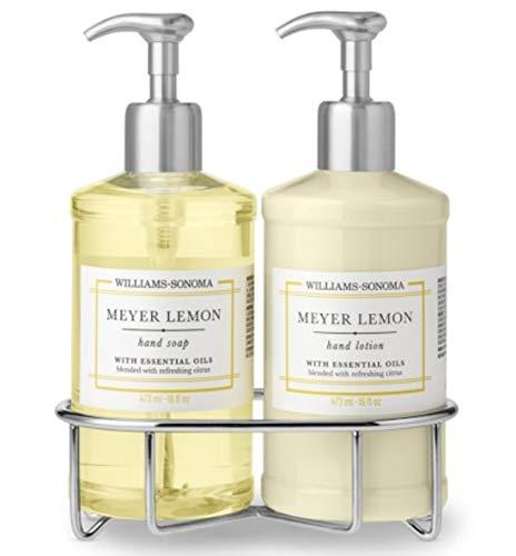 Williams Sonoma Luxury Meyer Lemon Hand Soap and Lotion Set (Best Hand Soap And Lotion Set)