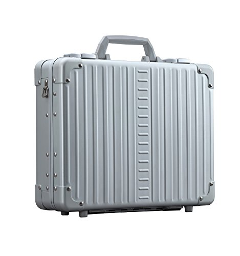 Aleon 15'' Aluminum Hardside Business Attache Briefcase (Platinum) Sliver by ALEON