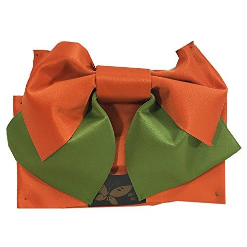 カウンターパート一人で雄弁【訳あり商品】 きものShop衿子 浴衣帯 つくり帯 付け帯 軽装帯 結び帯 D ツートンカラー