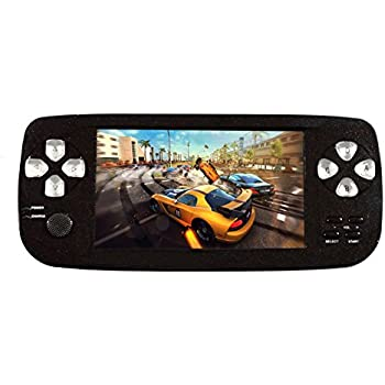 "Handheld Game Console , 4.3"" 653 Classic Portable Game Console PAP-KIII , Support GBA / GBC / GB / SEGA / NES / SFC / NEOGEO , Birthday Presents for Children -Black"