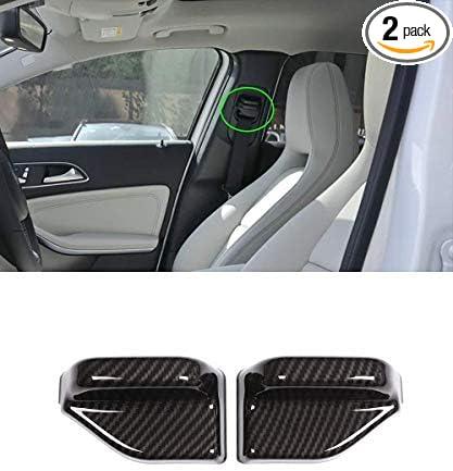 Amazon.com: Carbon Fiber Seat Belt Cover Trim 2pcs For ...
